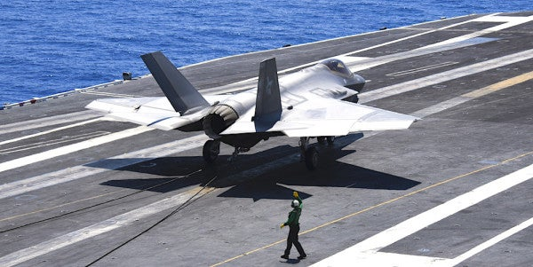 The F-35 Is Finally Coming To The World's Oceans Thanks To The US Navy