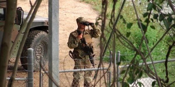 National Guard Soldier Deployed To US-Mexico Border Accused Of Stealing Meth From Border Patrol Agents
