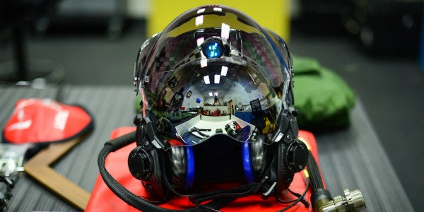 A 6-Year-Old Bug In The F-35's $400,000 Helmet Is Still Hindering The Fighter's Core Mission