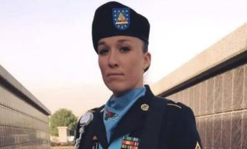 First Female Enlisted Soldier Earns Army Ranger Tab