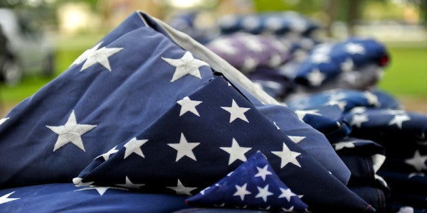 One Veteran Is On A Mission To Replace Worn American Flags