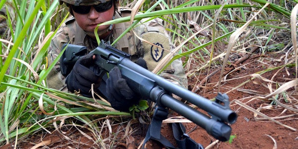 Why The US Military Still Loves Shotguns In A Firefight