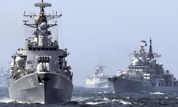 A British Warship Just Stared Down The Chinese Military In The South China Sea