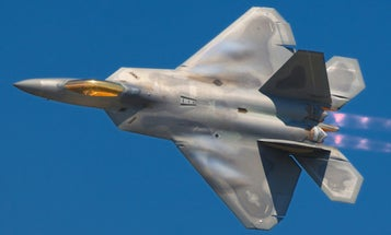 The F-22 Conducted Its First-Ever 'Combat Surge' In The Skies Above Syria