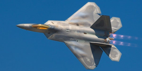 F-22s Intercept Russian Strategic Bomber Heading For Alaska During Massive War Game