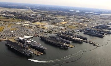The Navy Has Ordered 30 Ships To Vacate Norfolk As Hurricane Florence Closes In