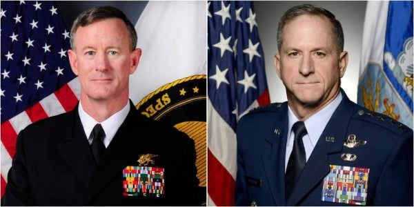 What Happens When Military Leaders Call For Dissent? Considering McRaven And Goldfein