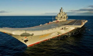 Why Russia's Lone Aircraft Carrier Churns Out So Much Putrid Black Smoke