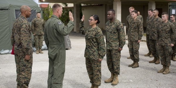 Pioneering Female Infantry Marine Kicked Out Of The Corps For Fraternization