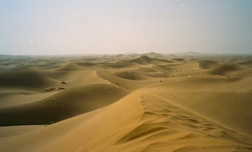 I Sought A Peaceful Poop In The Kuwaiti Desert. Then The Convoys Arrived