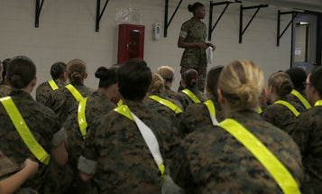 Parris Island Marines Will Now Stay Put In The Face Of Hurricane Florence