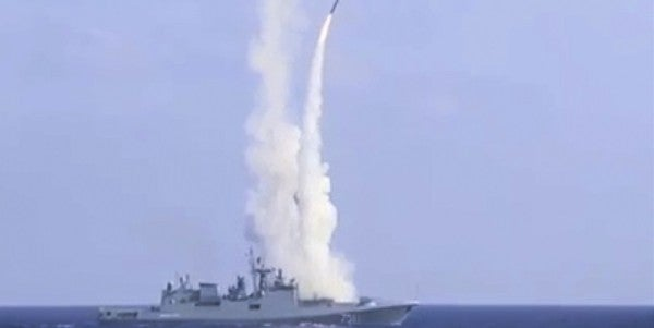 Russian Warships Are Probably Lurking Near Syria In Case Putin Orders Cruise Missile Strikes