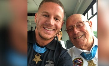 The Youngest And Oldest Living Marine Medal Of Honor Recipients Met, And This Epic Photo Is The Result