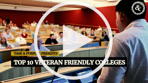 These Are The 10 Most Veteran-Friendly Colleges In The United States