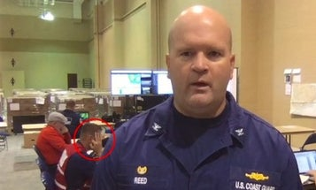Coast Guard Member Removed After Allegedly Flashing White Power Gesture On National TV