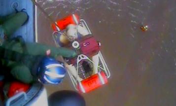 Marines, Coast Guard Rescue Dozens Of Civilians From Hurricane Florence Devastation