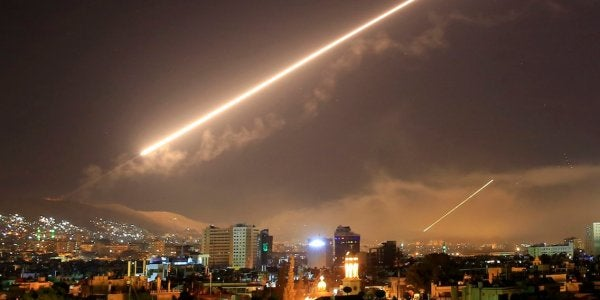 Report: Syria Accidentally Shot Down A Russian Plane While Fending Off An Israeli Missile Strike
