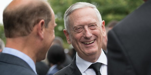 Mattis On Leaving The Pentagon: 'I'm Thinking About Retiring Right Here'