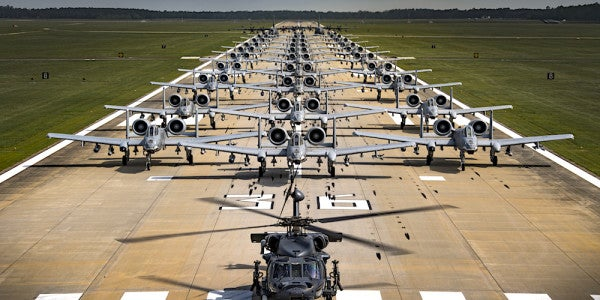 The Air Force Is Stretched Dangerously Thin, According To 2 Grim New Studies