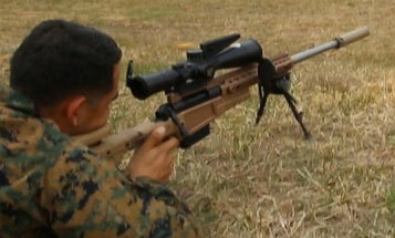 A Handful Of Marines Are Already Rocking The Corps' First New Sniper Rifle Since Vietnam
