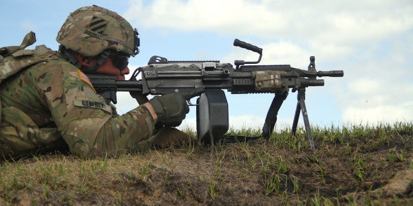 In Praise Of The M249 Squad Automatic Weapon