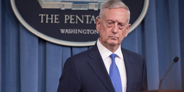 Mattis Says Syria Policy Has Not Changed After White House Changes Syria Policy