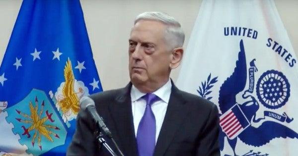 Someone Sent Poisoned Envelopes Addressed To Mattis At The Pentagon