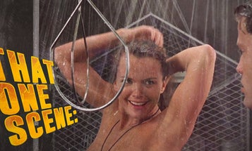 The shower scene is the most important part of 'Starship Troopers,' and not for the obvious reasons