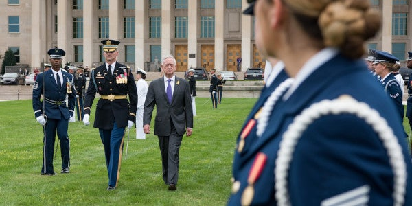 Mattis Defends His Vague Assessment Of Women In Infantry Roles
