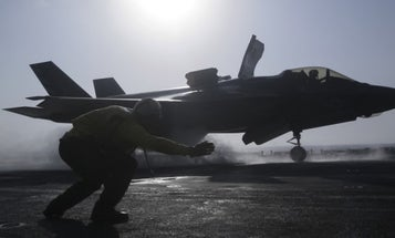 Watch The Pentagon Send The F-35 Into Combat For The First Time