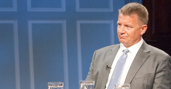 Erik Prince Thinks He Can Turn Around The War In Afghanistan With 6 Months And 3,600 Men