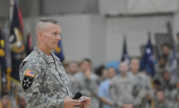 Dunford's Top Enlisted Advisor Suspended Pending Investigation Into 'Alleged Misconduct'