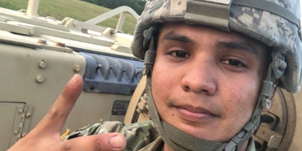 The National Guard Officer Accused Of Taking An APC On A Joyride Will Have His Day In Court