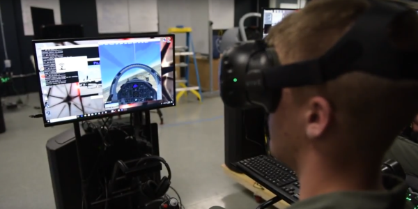 The Air Force Used VR To Train Pilots In Half The Time At A Fraction Of The Cost