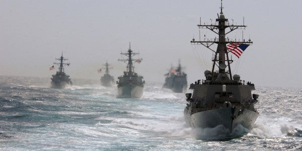 The US Navy Is Planning A Major Show Of Force In The South China Sea