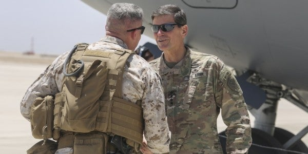 CENTCOM Commander: Erik Prince's Plan For Afghanistan Isn't Happening