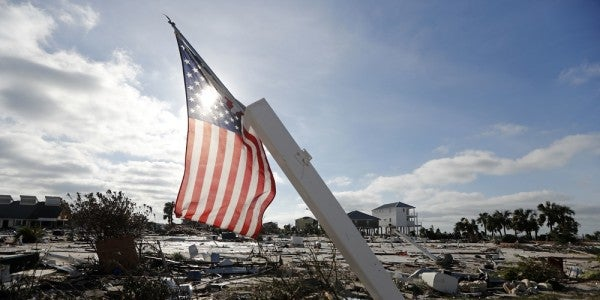 There's 'Widespread Catastrophic' Hurricane Damage At Tyndall Air Force Base