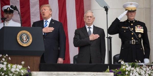 Trump Tells '60 Minutes' That Mattis 'May Leave' The Pentagon