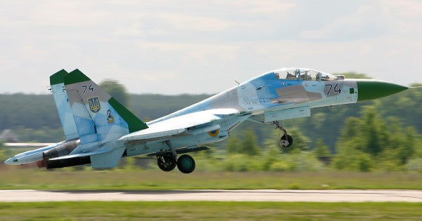 US Pilot 'Involved' In Ukraine Fighter Crash, Status Unknown