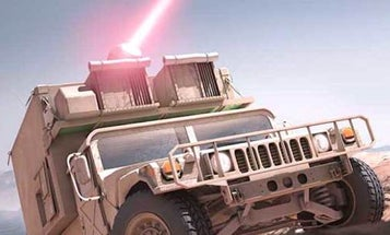 The Marine Corps Wants To Put Freakin' Lasers On Vehicles For Crowd Control