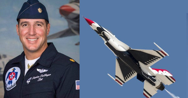 Air Force Thunderbirds Pilot Pulled Nearly 9G's Before Blacking Out In Fatal Crash