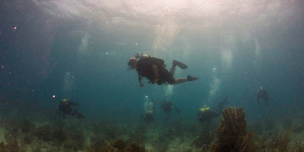 A Navy Master Diver's Idea Could Transform How Some In The Community Do Their Jobs