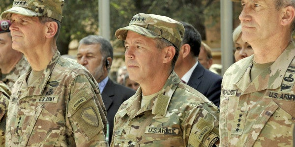 Top American General In Afghanistan Survives Insider Attack That Wiped Out Senior Afghan Officials