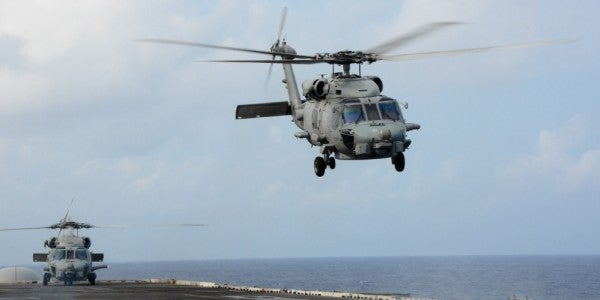 12 Sailors Injured When Navy Helicopter Crashes Aboard The USS Ronald Reagan
