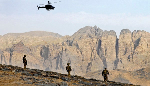 Photo: A Long March In Afghanistan