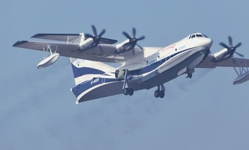 China Just Successfully Launched The World's Largest Amphibious Aircraft