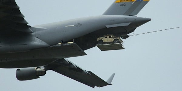 The Air Force Accidentally Dropped A Humvee Over North Carolina
