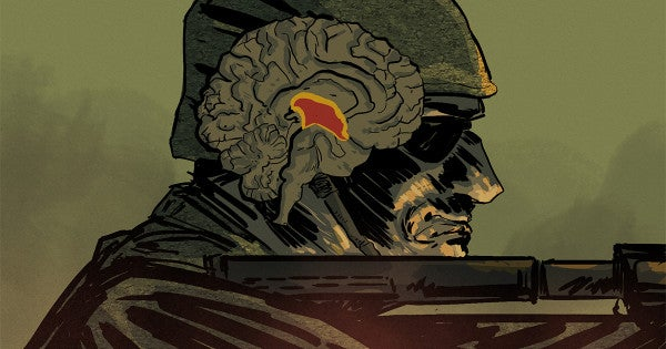 This is your brain on war