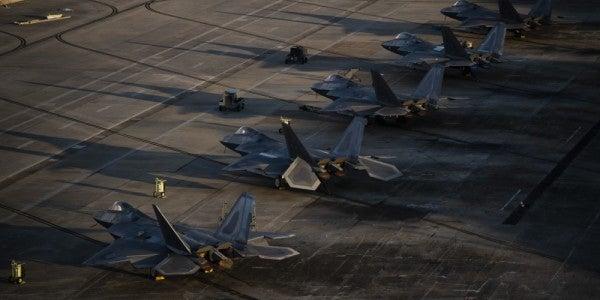 Senator Reveals That 17 F-22 Raptors Were Damaged By Hurricane Michael