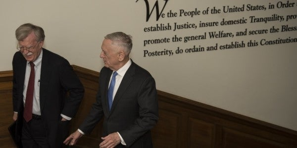 John Bolton And His Deputy Reportedly Keep Stabbing Mattis In The Back